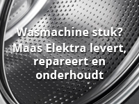 Wasmachine stuk?